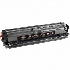 HP650A CE270A LASER RECYCLED BLACK TONER CARTRIDGE