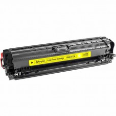 HP650A CE272A LASER RECYCLED YELLOW TONER CARTRIDGE