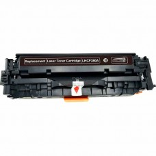 HP312A CF380A LASER RECYCLED BLACK TONER CARTRIDGE