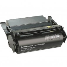 LEXMARK 12A5745 12A5845 LASER RECYCLED BLACK TONER CARTRIDGE
