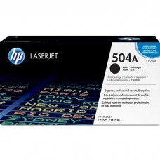HP504A CE250A LASER ORIGINAL BLACK TONER CARTRIDGE