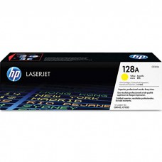 HP128A CE322A LASER ORIGINAL YELLOW TONER CARTRIDGE