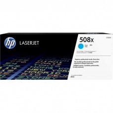 HP508X CF361X LASER ORIGINAL CYAN TONER CARTRIDGE HIGH YIELD