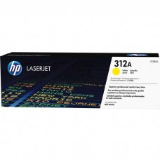 HP312A CF382A LASER ORIGINAL YELLOW TONER CARTRIDGE
