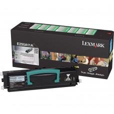 LEXMARK E250A11A LASER ORIGINAL BLACK TONER CARTRIDGE