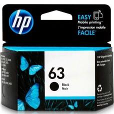 HP63 F6U62AN ORIGINAL INKJET BLACK CARTRIDGE