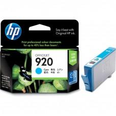 HP920 CH634AC ORIGINAL INKJET CYAN CARTRIDGE