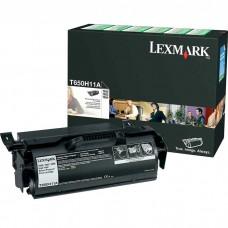 LEXMARK T650H11A LASER ORIGINAL BLACK TONER CARTRIDGE